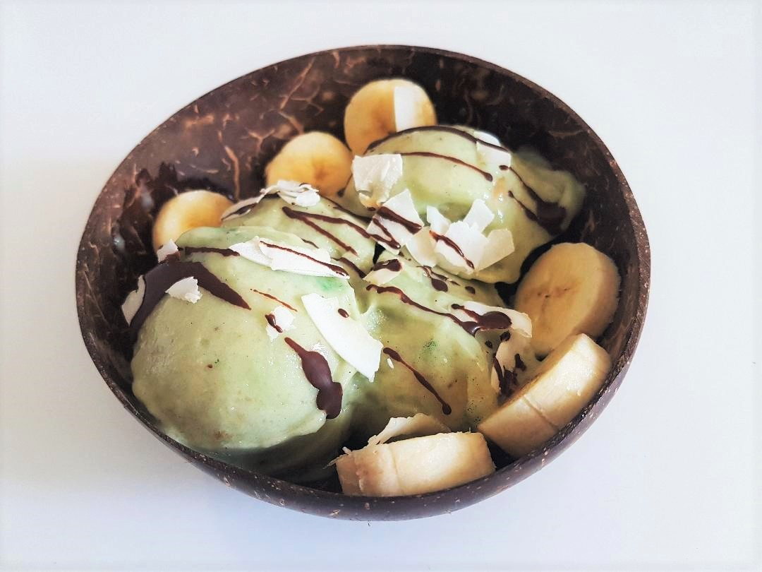 Fit and Green ice cream
